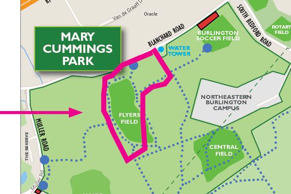 Walkable Mary Cummings Park
