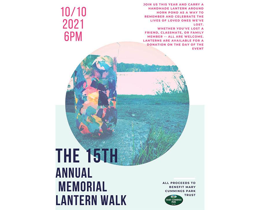 2021 Lantern Walk Poster