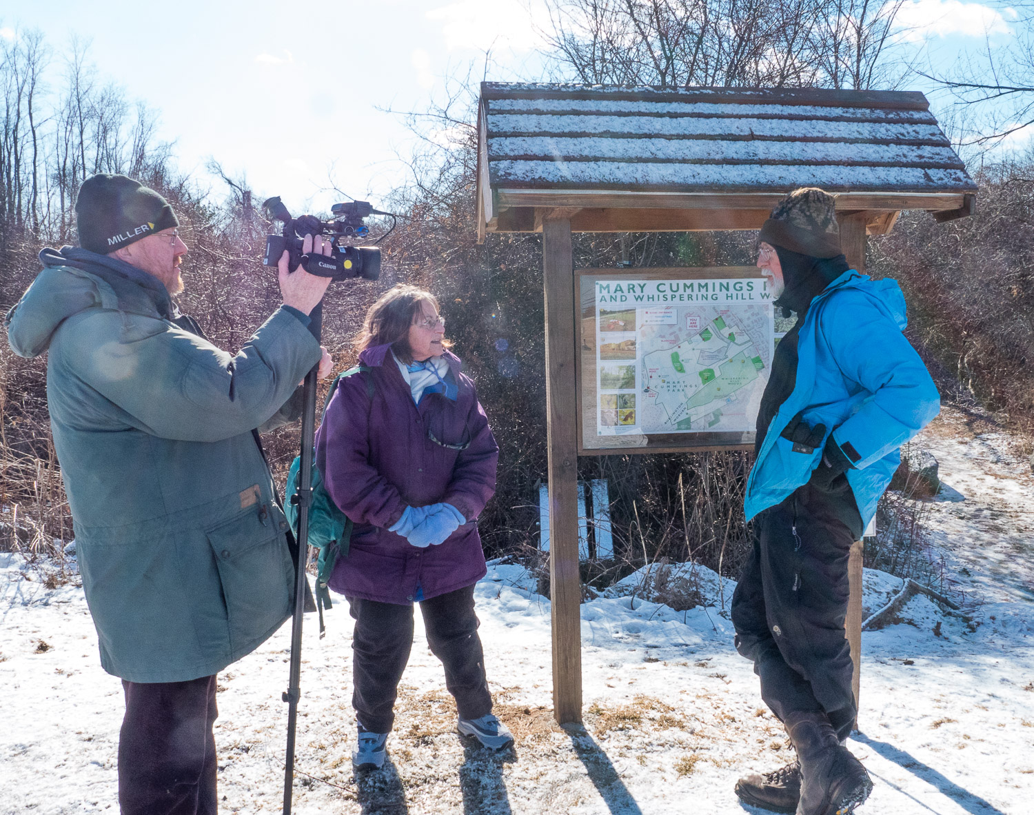 BCAT interviews Nick about wildlife in today's suburbs.