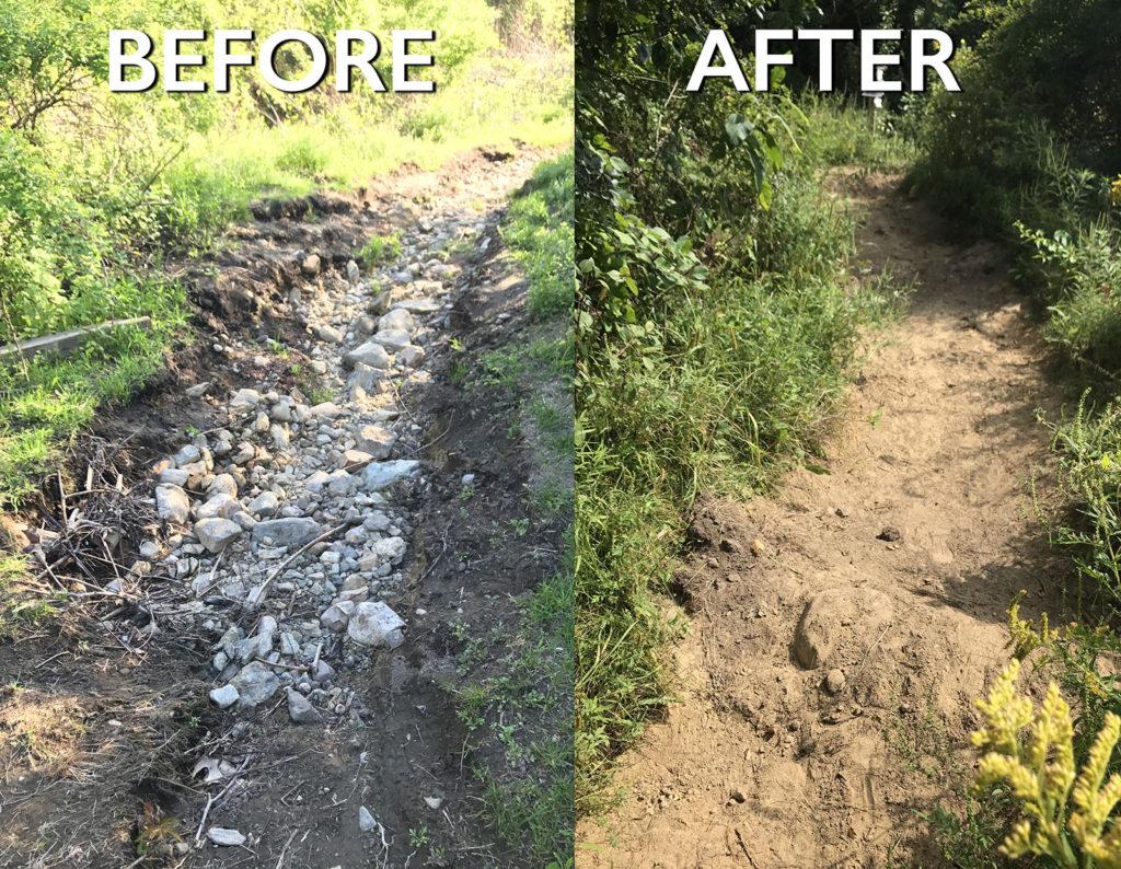 major trail repair