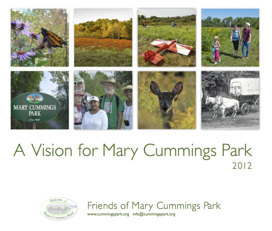 2012 Vision for Mary Cummings Park