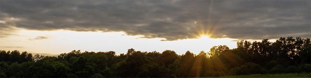 mary cummings park sunset